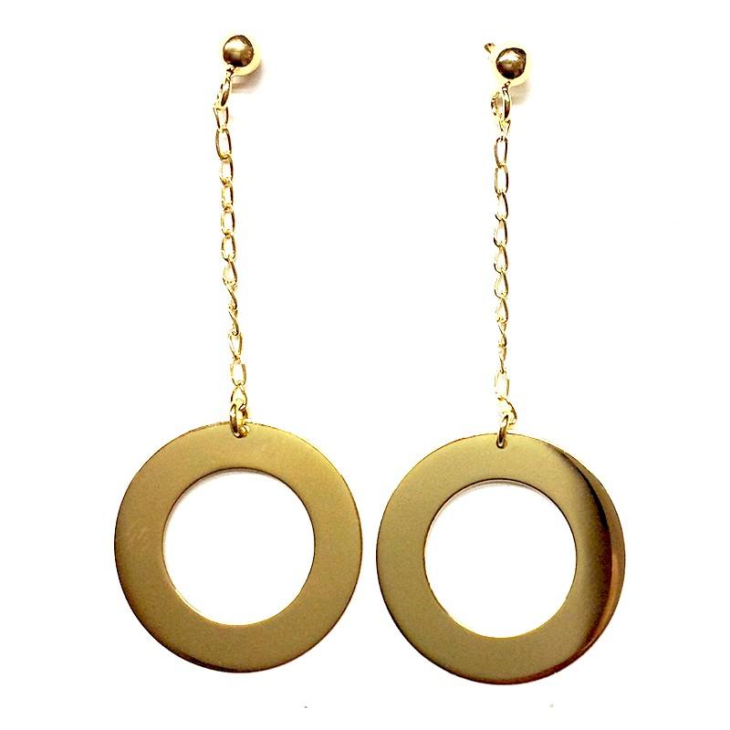 Pendientes PENDULO Oro