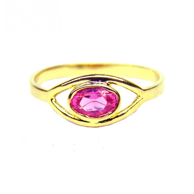 Anillo TURCO Rosa Francia Oro