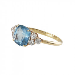 Anillo BLUE GOLD