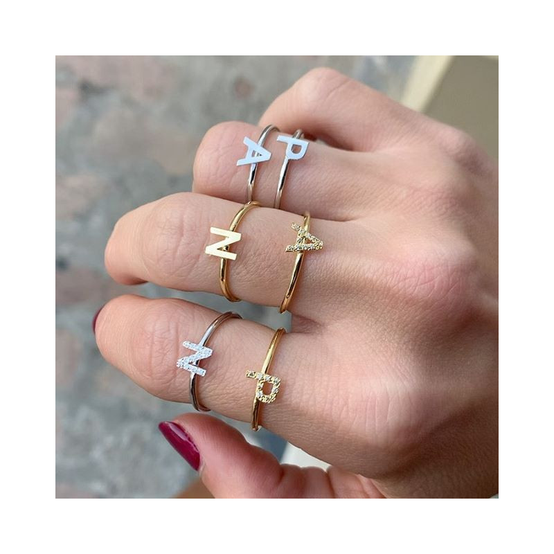 Anillo INITIAL Simple