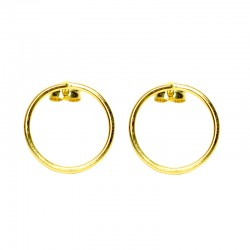 Pendientes CIRCLE Oro