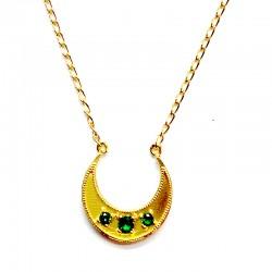 Colgante CRIOLLA Oro Esmeralda